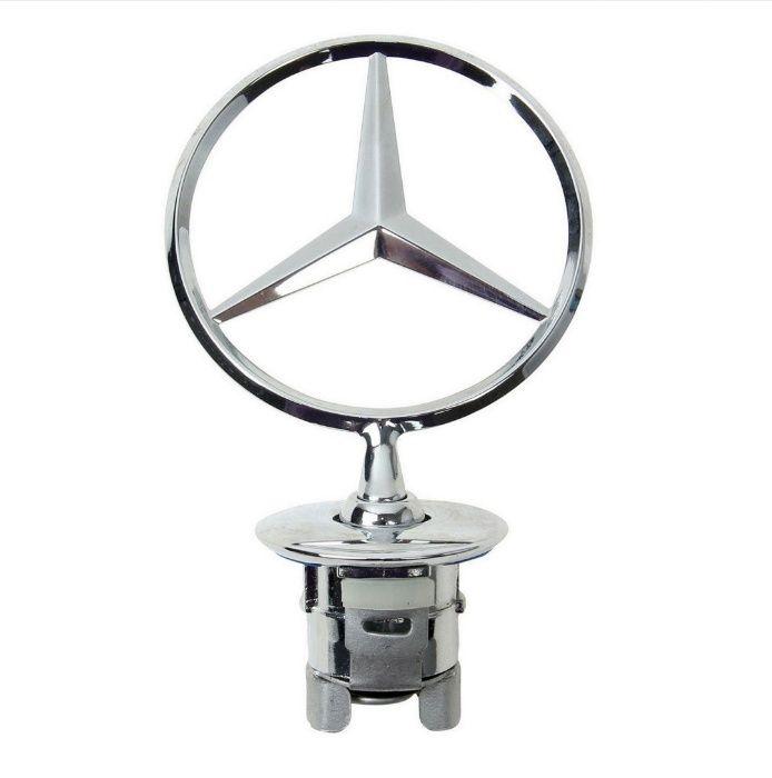 Емблема за Мерцедес мерник 44мм Mercedes C,E,S-klasa лого за капак