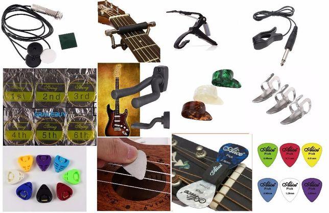 Пикап для гитары медиатор /настенное крепление зажим капо струны