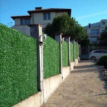 Декоративна оградна мрежа, жив плет, оградни пана