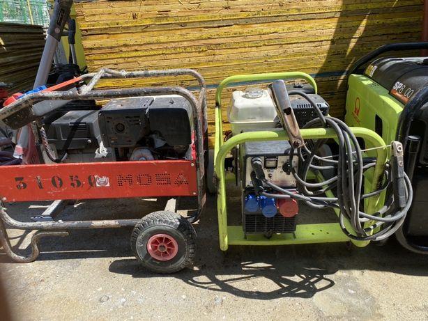 Generator cu aparat de sudura - placa compactoare picamer