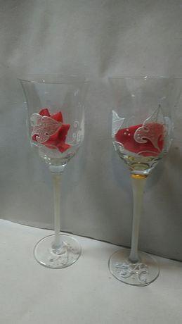 Сватбени чаши - 2 бр.