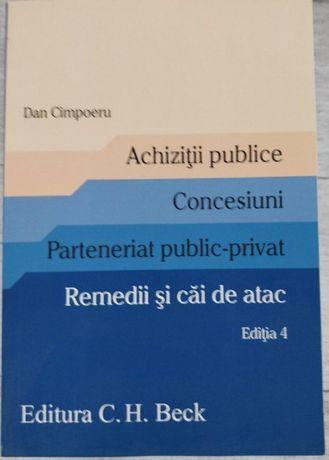 Dan Cimpoeru-Achiziții publice. Concesiuni. Parteneriat PP. Ed.4,2019