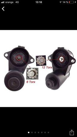 Motoras etrier 6-12 zimti , motor frana , motor frana vw