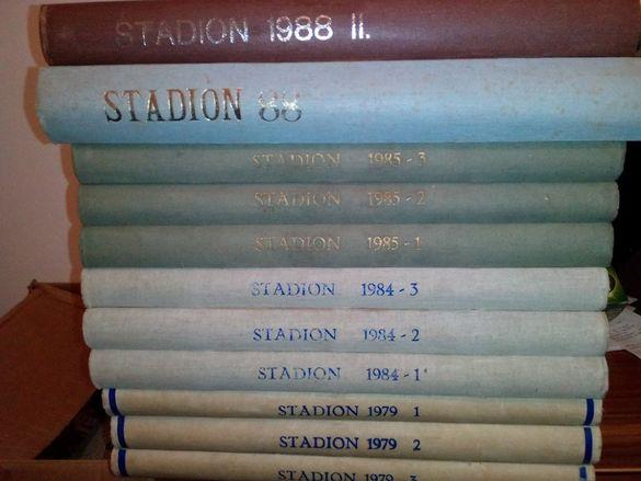 Списания Стадион Чехословакия 1979, 1984, 1985, 1988