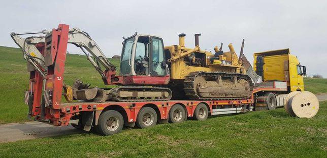 Transport excavatoare, Transport buldoexcavatoare, Transport Tractoare
