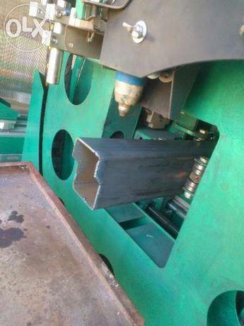 CNC / ЦПУ ЦНЦ автомат за рязане на кухи стоманени профили