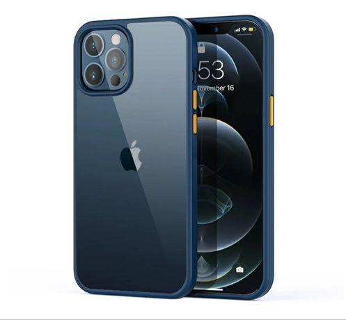 Цветен Кейс Rock за Apple iPhone 12 Pro Max - Супер Защита