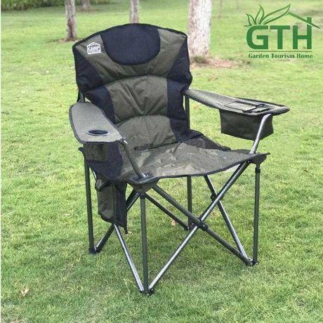Кресло Camp Master с встроенным термоотсеком (до 200 кг), Акция!