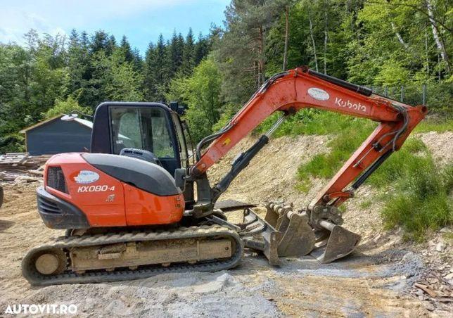 Kubota KX 080-4 Mini Excavator Kubota KX 080-4 Mini Excavator