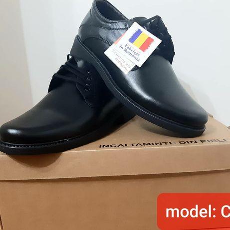 Pantofi barbati model club piele naturala 100 % interior Exterior
