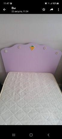 Кровать для девочки 1м×2м