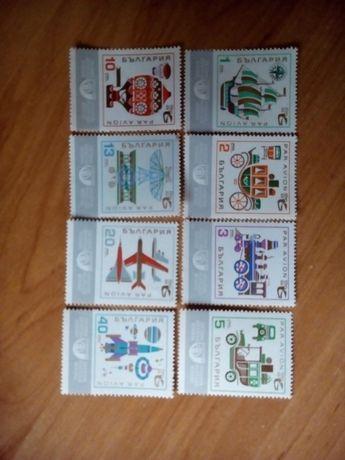 бг. пощенски марки - съобщителни средства 1969