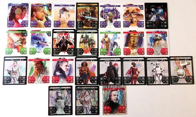 Cartonase Star Wars Kaufland - 3 lei bucata