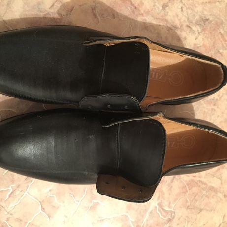 Новые кожаные туфли недорого продам срочно
