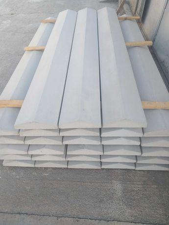 Coame gard beton, capace gard beton, gard beton, spalieri beton