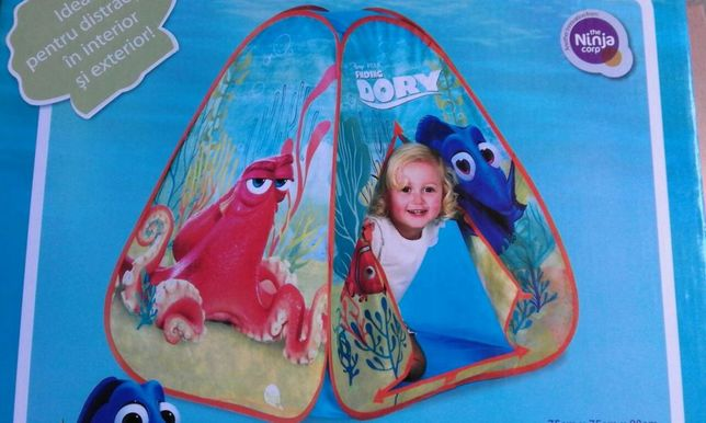 Cort copii auto-deschidere, licență Disney Finding Nemo/ Dory, sigilat