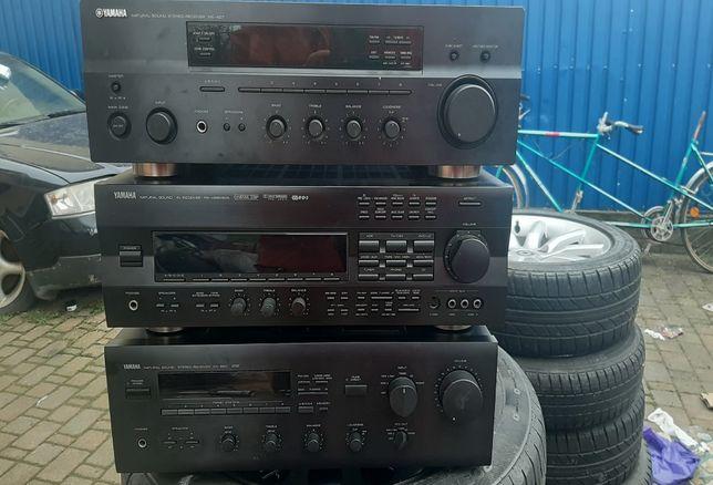amplificator yamaha 5x100w cu intrare fibra optica (sony pioneer jvc)
