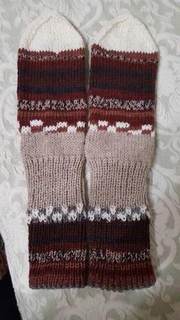 ръчно плетени чорапи 75% вълна