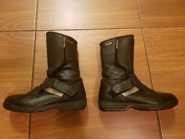 Hein Gericke Gore-Tex cizme moto piele, motor, papuci, bocanci, nr. 39