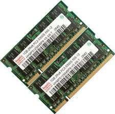Memorii RAM 2Gb DDR2 667Mhz PC2-5300 formata din 2x1Gb DDR2 SODIMM