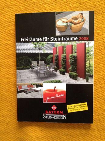 """""""Stein+Design Bayern"""" 2008 немско списание каталог за външен дизайн"""