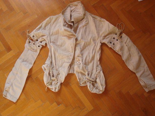 Jachetă damă cu mâneci detaşabile