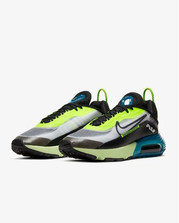 Nike Air Max 2090 White-Black-Green CJ4066-101