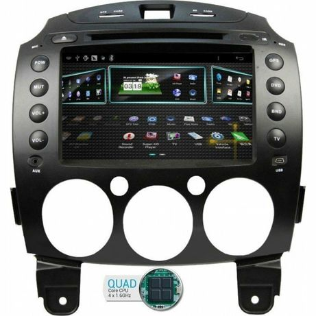Navigatie Mazda 2 Android 10 TR1710  Rezolutie 1080P  4G WIFI