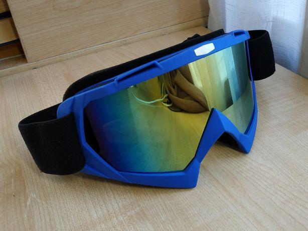 Очки крутые новые для сноуборд и лыжи, Маска.