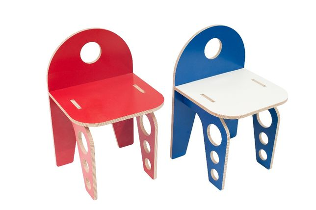 Scaunel pentru copil (placaj/lemn eco) Scaun copii | Livrare