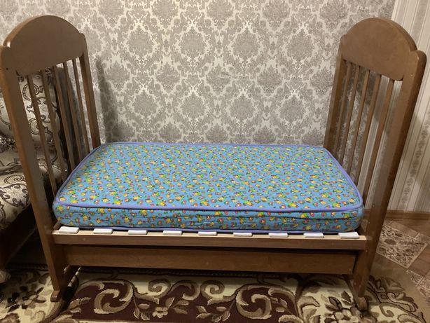 Кровать манеж с рождения до 6 лет