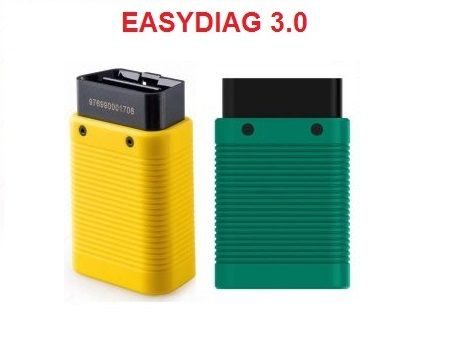 Launch Easydiag 3.0 Tester/Diagnoza cu softul PRO3S+ Full Update 2020