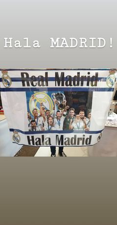 Real Madrid steag