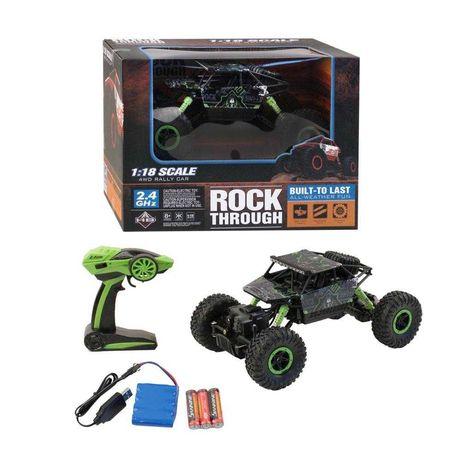 Радиоуправляемый рок  краулер Rock Through 4WD. машинки на пульте.