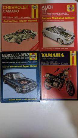 Haynes manuals Audi TT Mercedes Benz 124 Peugeot 106 Sailing manual