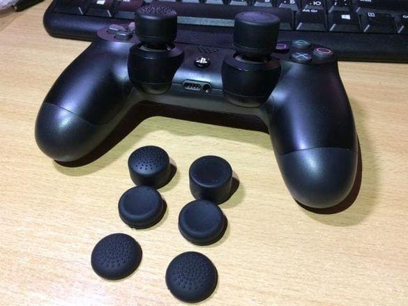 Комплект силиконови грипове за геймпад за PS3 PS4 Pro Grip Sony Plays