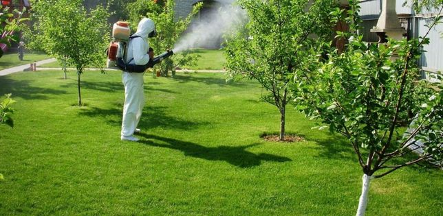 Дезинфекция открытых участков комаров,мух,клещей!!!