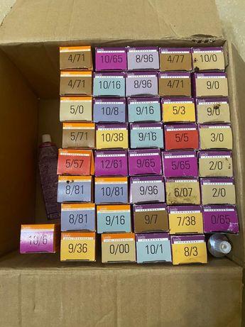 Краски Лонда почти все новые, полные 500тг за штуку