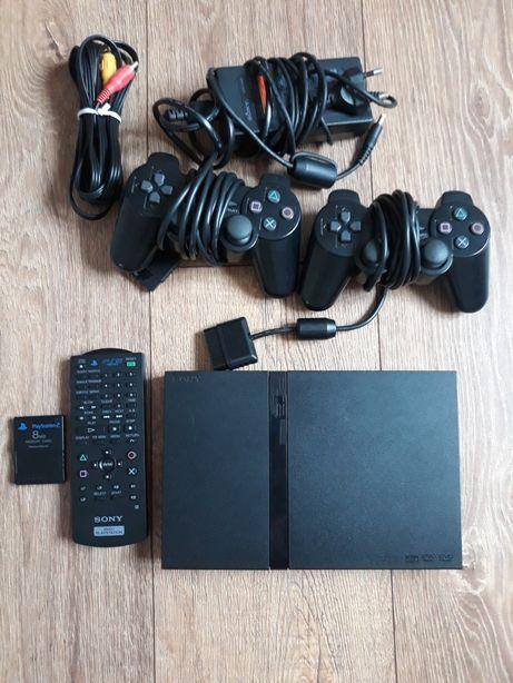 Play Station 2cu telecomanda 6 jocuri