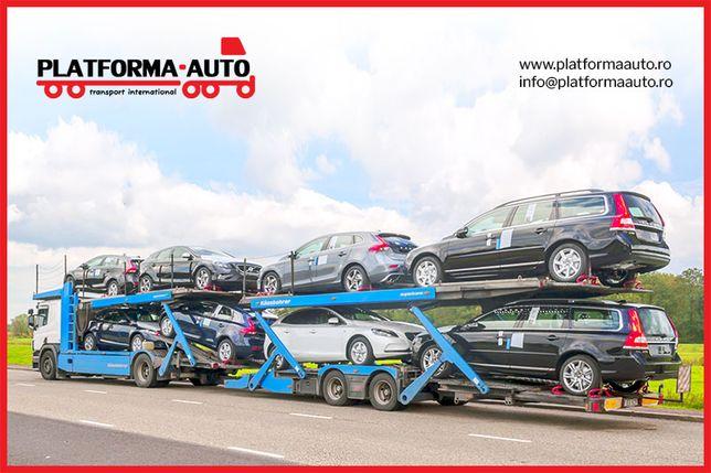 Transport Platforma Auto Germania, Belgia, Franta, Olanda, Spania