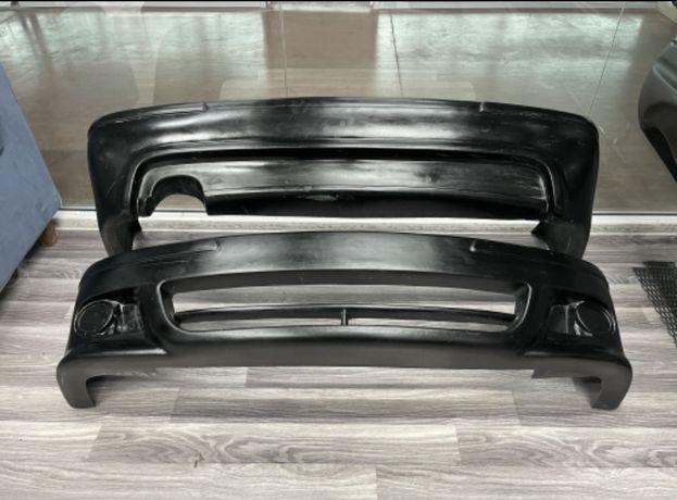 БМВ Е39 передний,задний бампер,пороги,спойлер,передняя губа