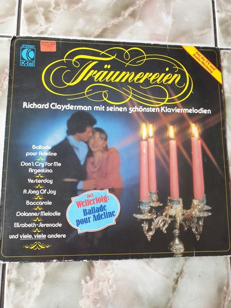 Vand vinil/placa Richard Clayderman