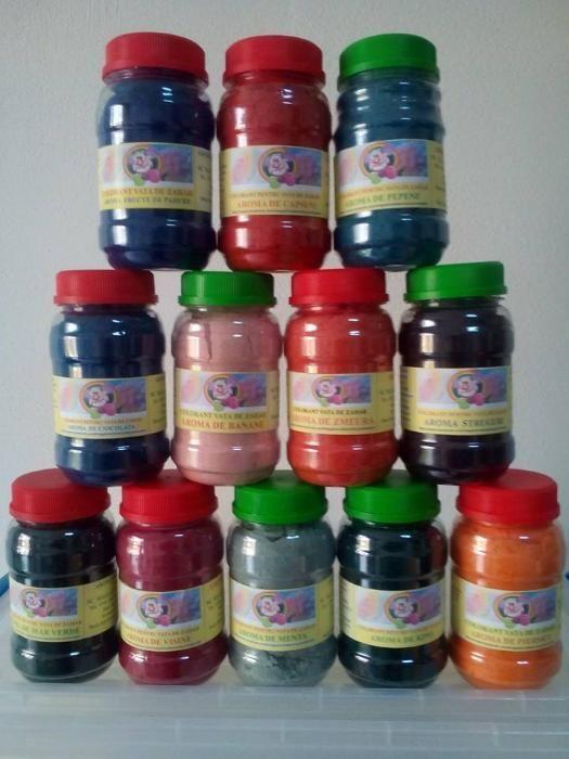 Coloranti si Arome alimentare pentru vata de zahar si dulciuri.