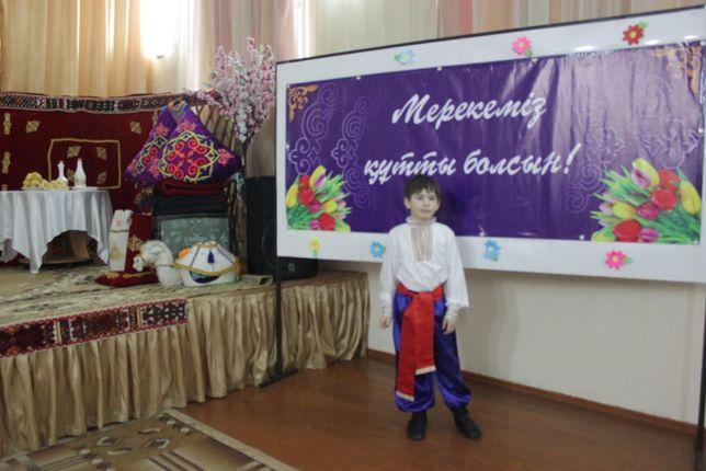 украинский костюм, ручная работа, на мальчика 8-10 лет