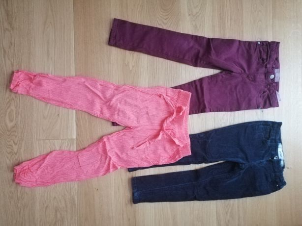 Set pantaloni 5-6 ani