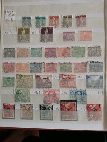 Clasor cu timbre din Germania Deutsche Bundespost BERLIN 1949-1990.