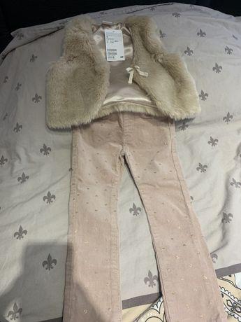 Детски елек с панталон