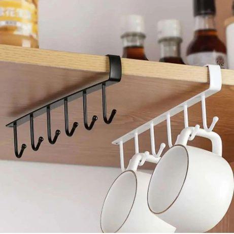 Крючки на полки для кухни