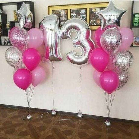 Baloane heliu cifre