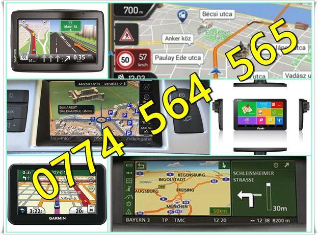 Actualizari Navigatii GPS Dedicate Originale Aftermarket de orice fel